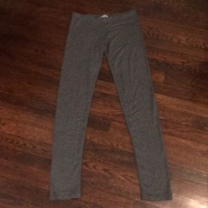Grey lightweight leggings